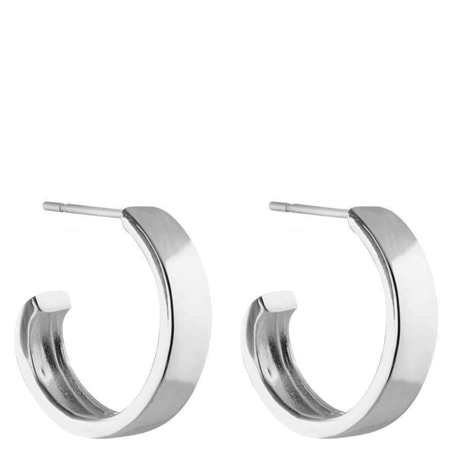 Snö Of Sweden Carrie Earring – Plain Silver