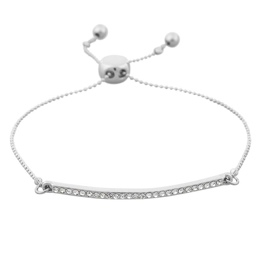 Snö of Sweden Corinne Bracelet - Silver/Clear