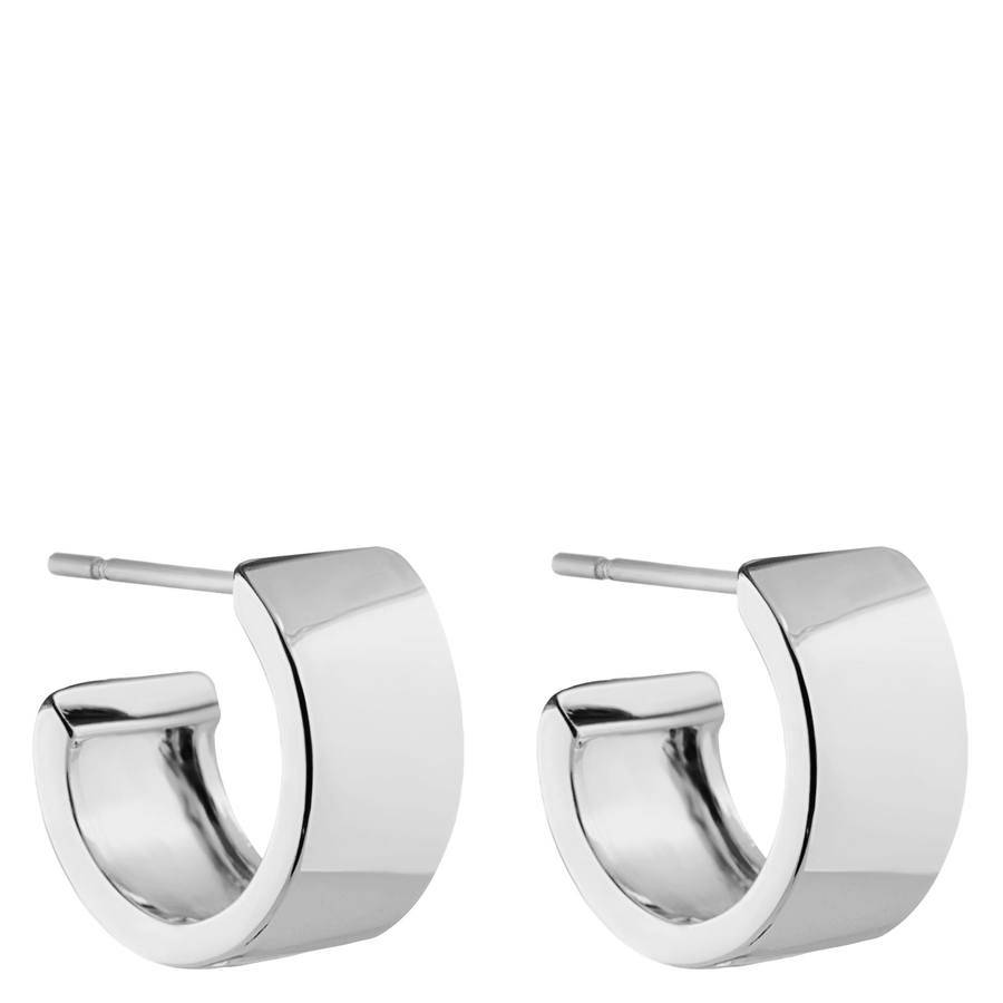 Snö Of Sweden Carrie Small Earring – Plain Silver