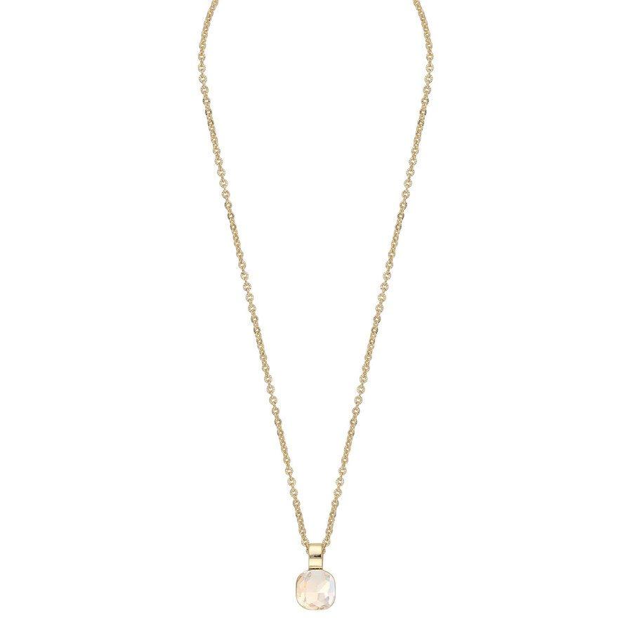 Snö Of Sweden Nocturne Pendant Necklace 42 cm - Gold/Champagne