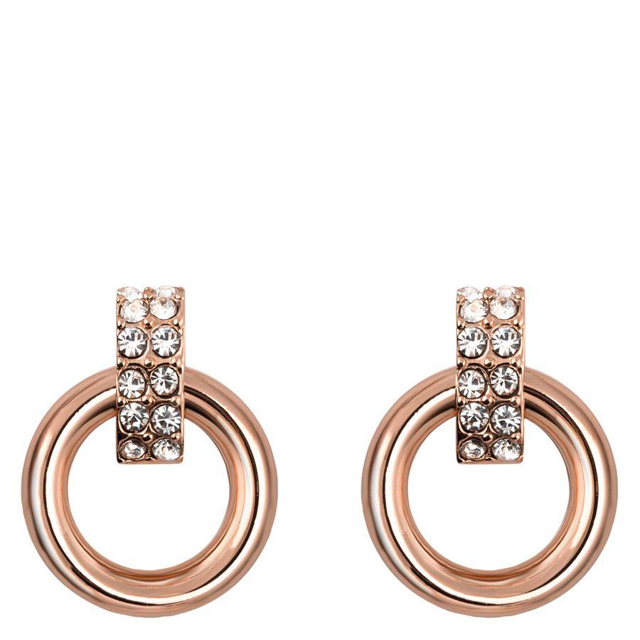 Snö Of Sweden Adara Small Earring – Rosé/Clear