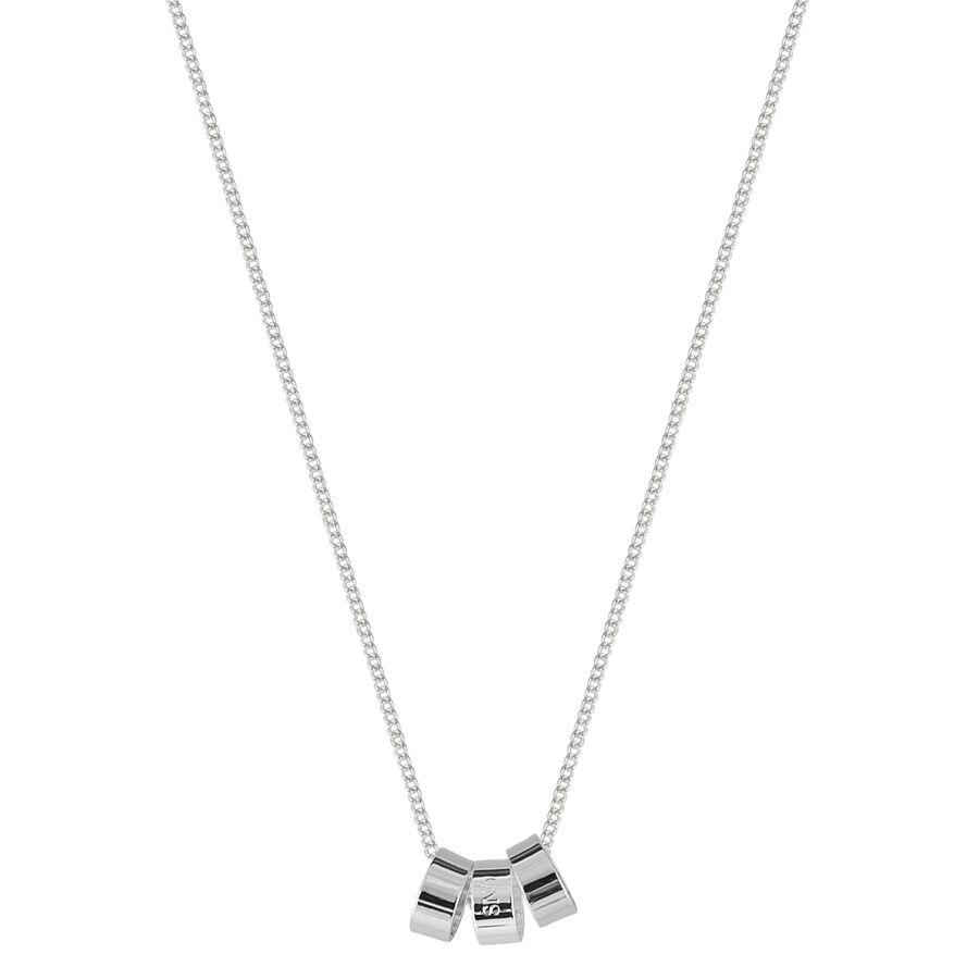 Snö of Sweden Alea Pendant Necklace 42 cm – Plain Silver