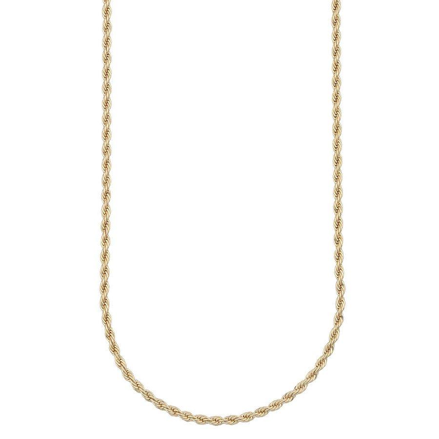 Snö Of Sweden Chase Hege Necklace 42 cm - Plain Gold