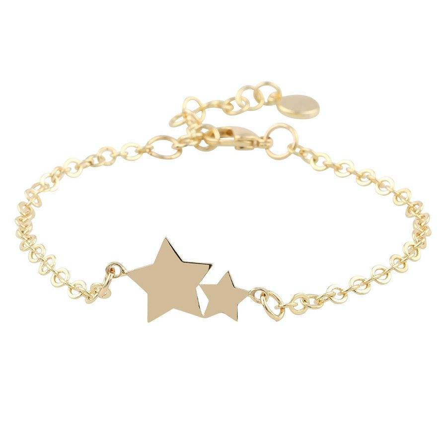 Snö Of Sweden Steira Chain Bracelet - Plain Gold