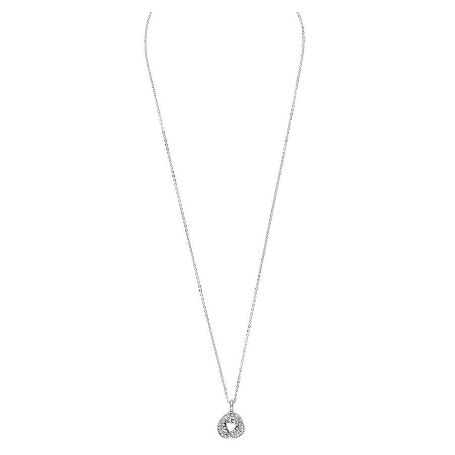 Snö Of Sweden Leonie Pendant Necklace 42 cm ? Silver/Clear