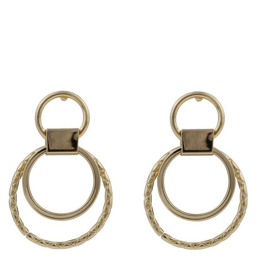 Snö Of Sweden Capella Small Round Earring ? Gold