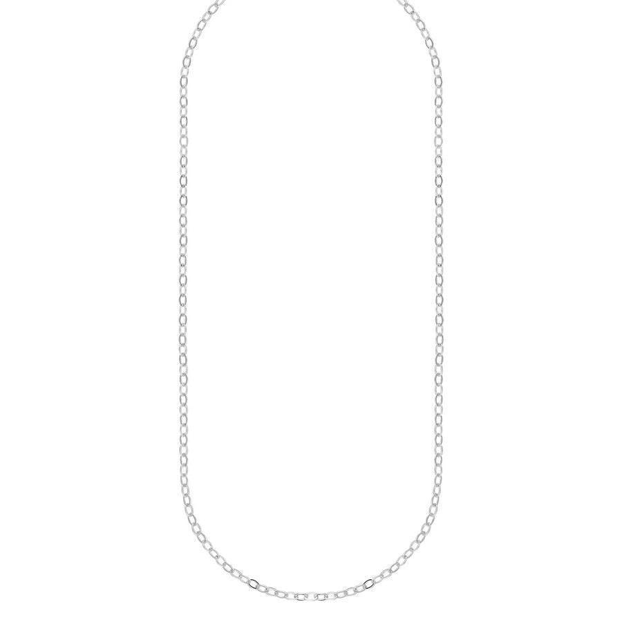 Snö Of Sweden Chase True Small Necklace 50 – Plain Silver
