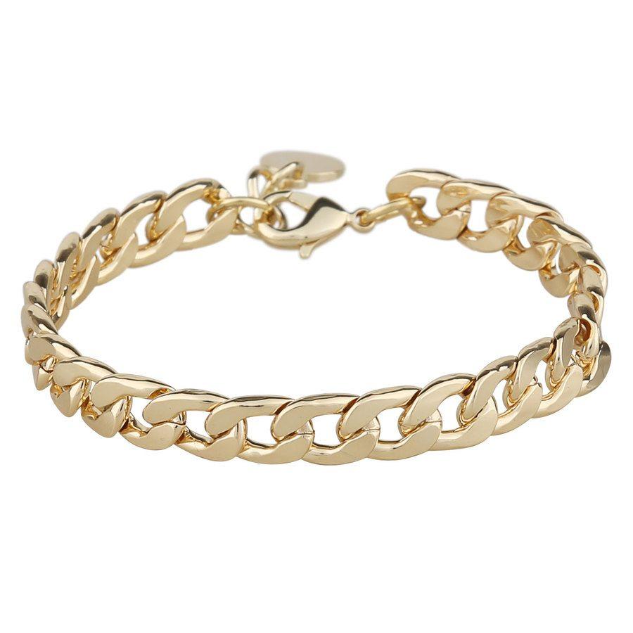 Snö Of Sweden Chase Mario Medium Bracelet – Plain Gold