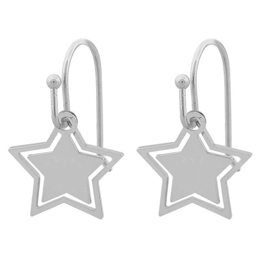Snö Of Sweden Steira Pendant Earring - Plain Silver