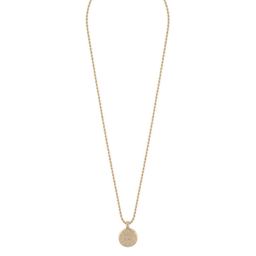 Snö Of Sweden Madeleine Pendant Necklace 42 cm - Plain Gold