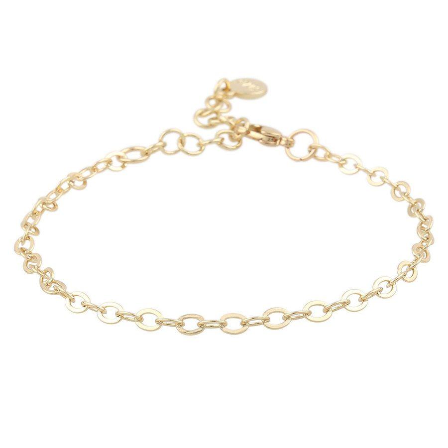 Snö Of Sweden Chase True Small Bracelet Single - Plain Gold