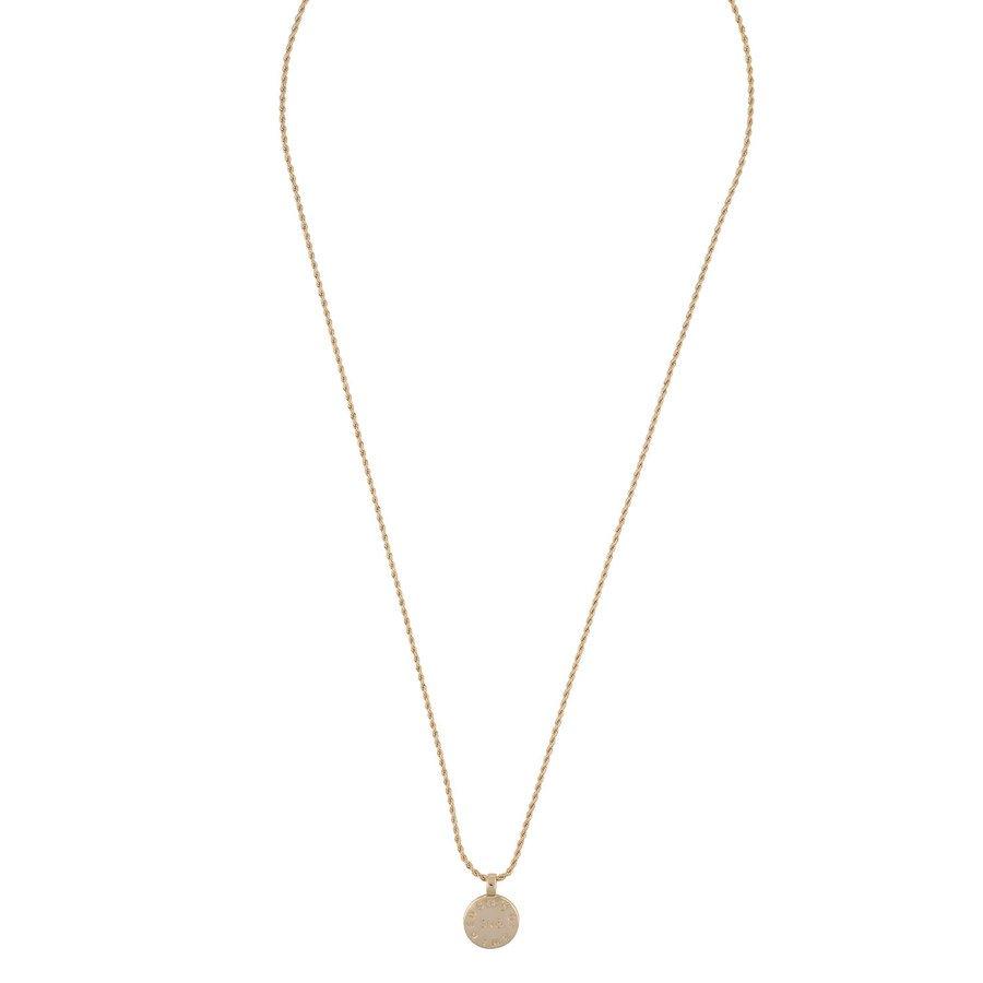 Snö Of Sweden Madeleine Pendant Necklace 60 cm - Plain Gold