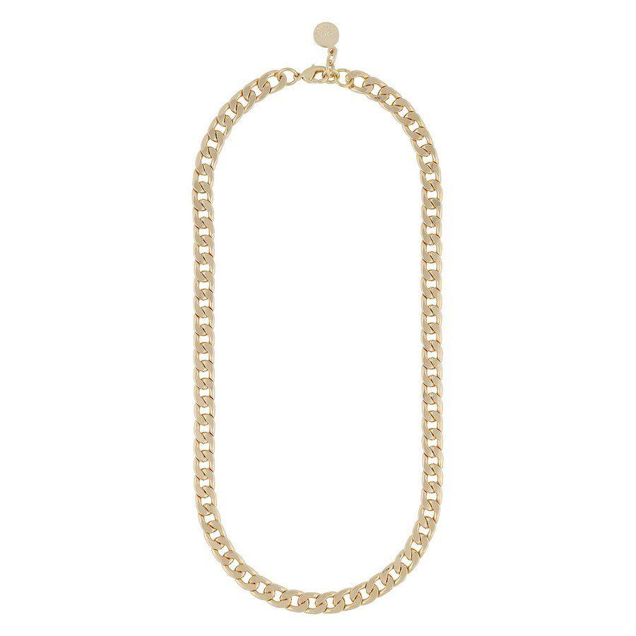 Snö Of Sweden Chase Mario Medium Necklace 42 cm – Plain Gold