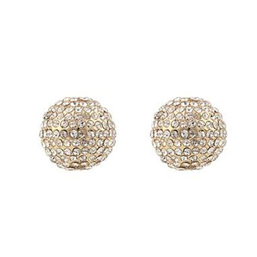 Snö of Sweden Zin Small Earring – Gold/Clear