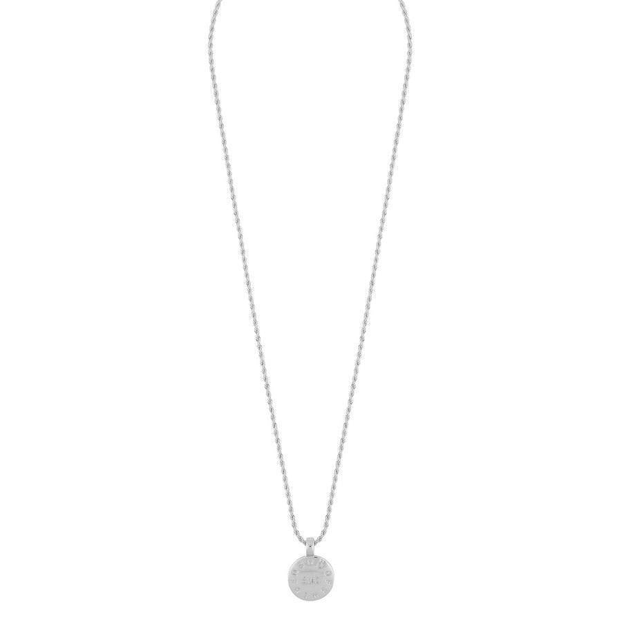 Snö Of Sweden Madeleine Pendant Necklace 42 cm - Plain Silver