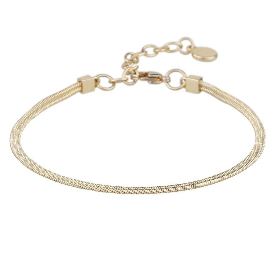 Snö Of Sweden Chase Charlize Bracelet – Plain Gold