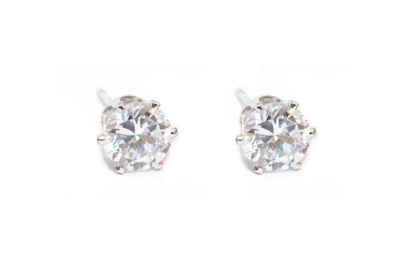 Snö Of Sweden Lady Small Earring Clear 6mm
