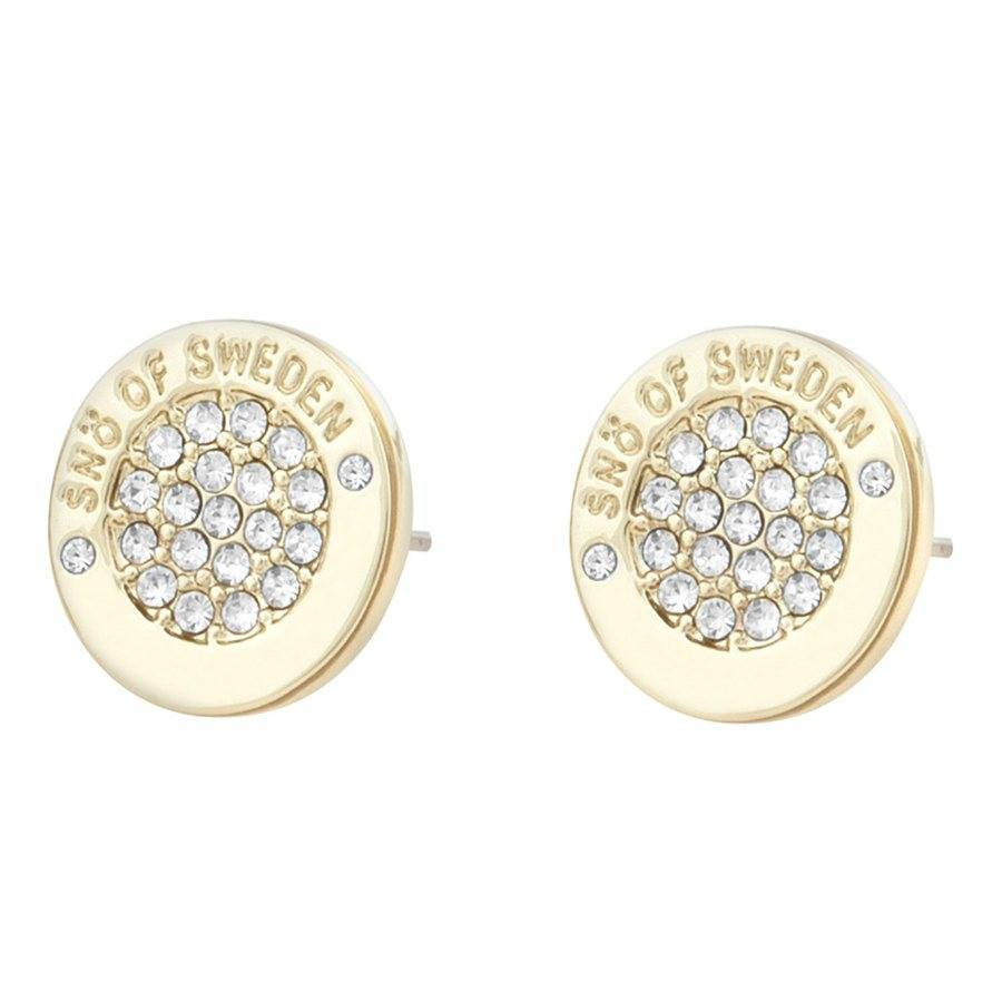 Snö Of Sweden Luna Earring – Gold/Clear