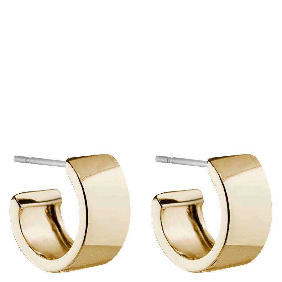 Snö of Sweden Carrie Small Earring Plain Gold 13mm