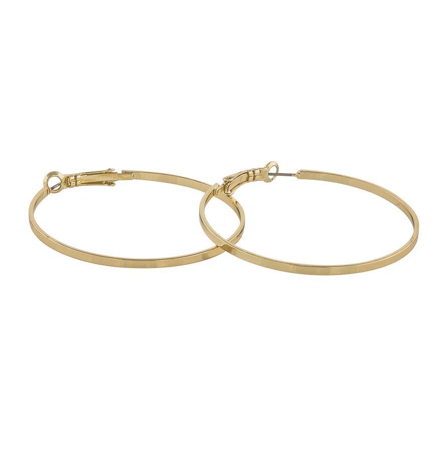 Snö Of Sweden Moe Ring Earring - Plain Gold