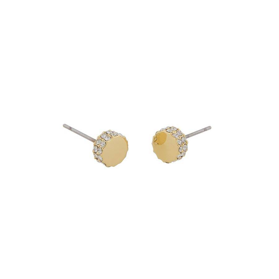 Snö Of Sweden Marly Small Earring - Gold/Clear