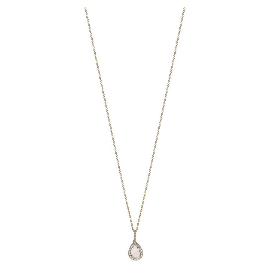 Snö Of Sweden Three Pendant Necklace 42 cm ? Gold/Clear
