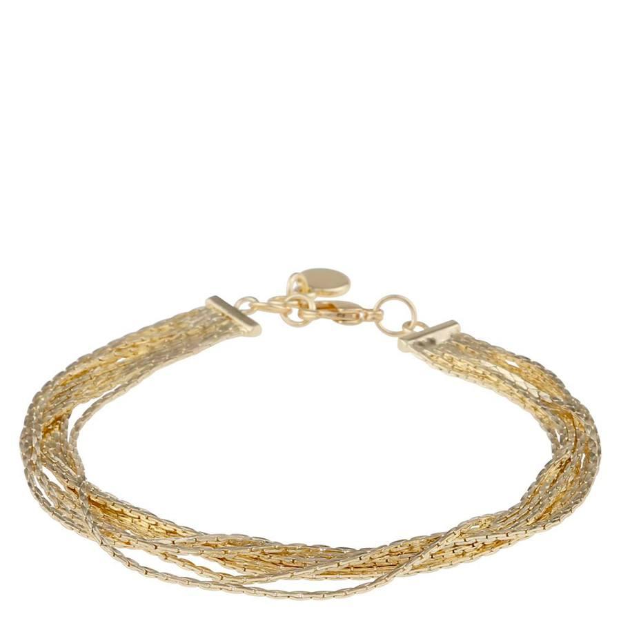 Snö Of Sweden Capella Bracelet Multistring 42 cm ? Gold