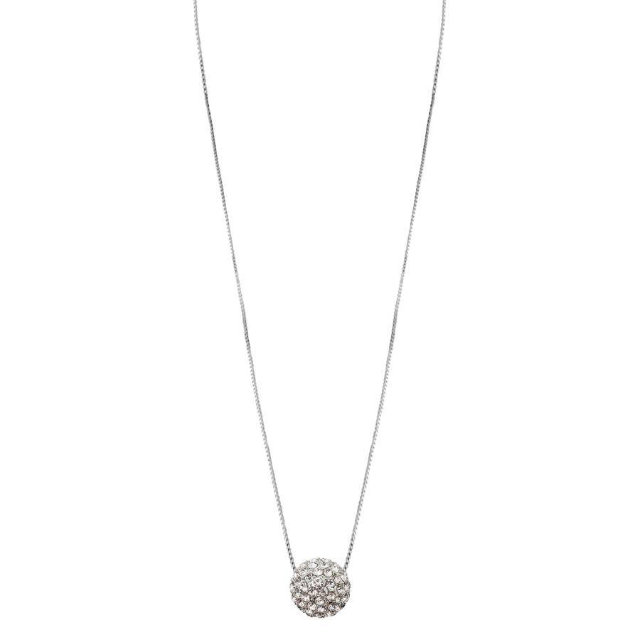 Snö Of Sweden Fair Pendant Necklace – Silver/Clear
