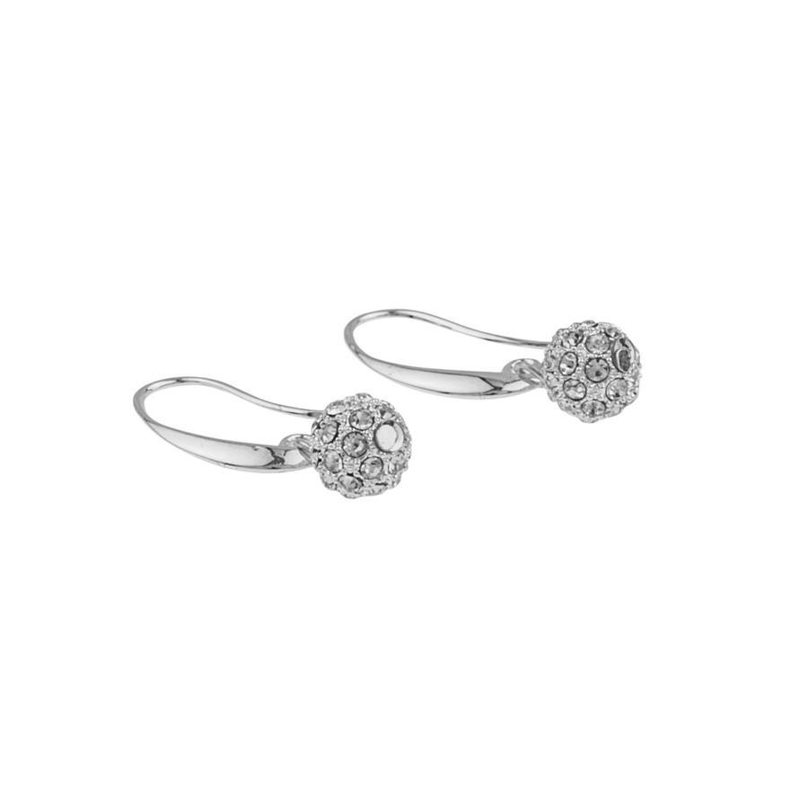 Snö Of Sweden Mysk Earring - Silver/Clear