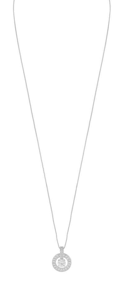 Snö Of Sweden Elaine Pendant Necklace - Silver/Clear