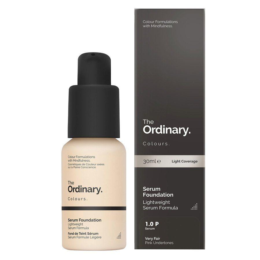 The Ordinary Serum Foundation 30 ml - 1.0 P Very Fair Pink