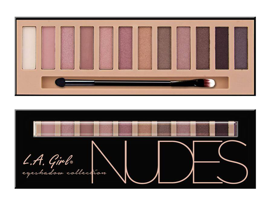 LA Girl L.A. Girl Cosmetics Beauty Brick Eyeshadow Collection - Nudes GES331