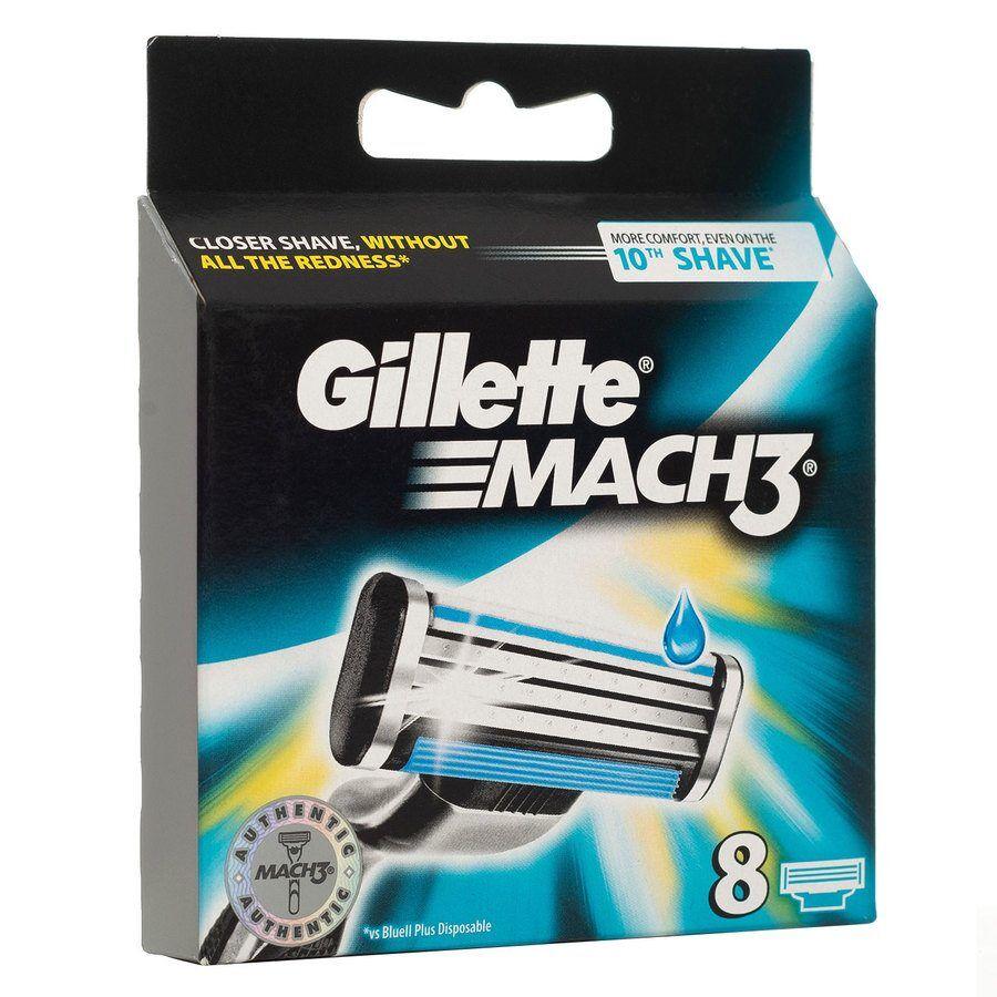 Gillette Mach3 Blades 8-pack