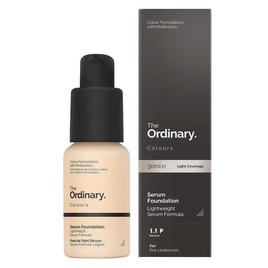 The Ordinary Serum Foundation 30 ml - 1.1 P Fair Pink