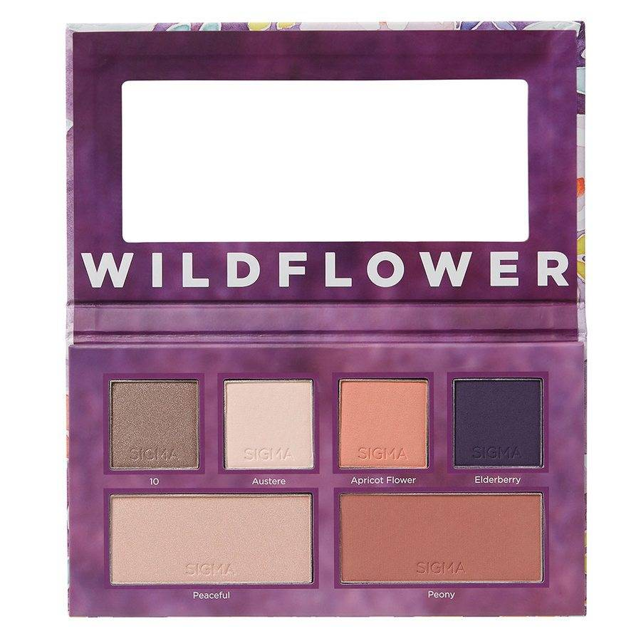 Sigma Beauty Eye & Cheek Palette Limited Edition Wildflower 30g
