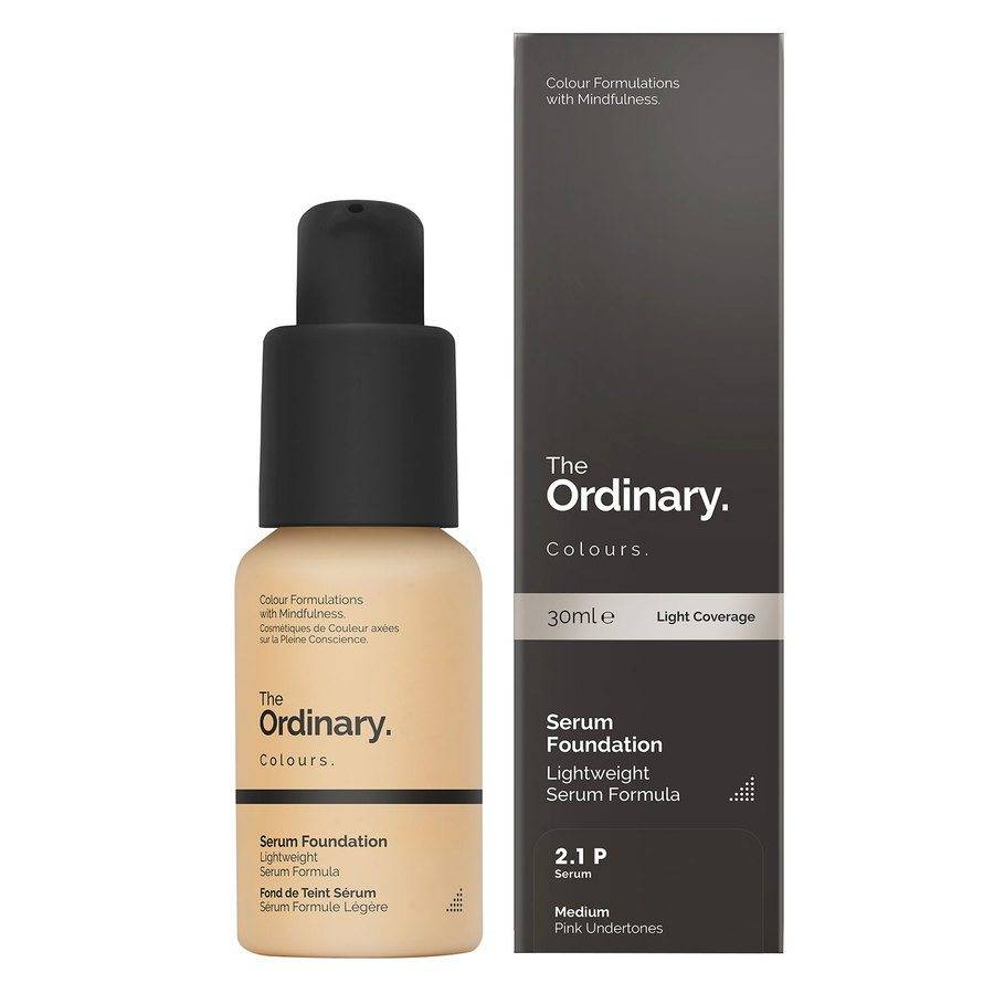 The Ordinary Serum Foundation 30 ml - 2.1 P Medium Pink