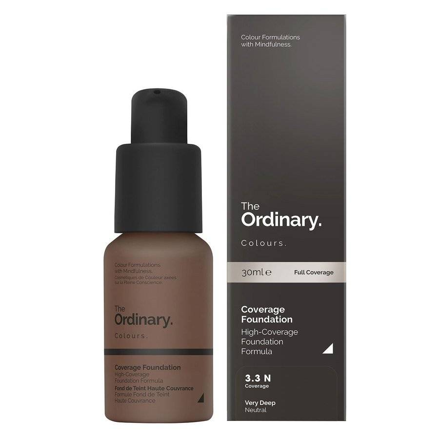 The Ordinary Coverage Foundation 3.3 N Very Deep Neutral 30ml
