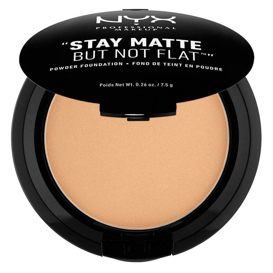 NYX Professional Makeup Stay Matte But Not Flat Powder Foundation Tan 7,5g