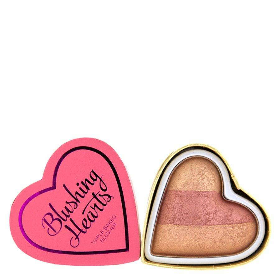 I Heart Makeup I Heart Revolution Blushing Hearts Blusher – Peachy Keen Heart