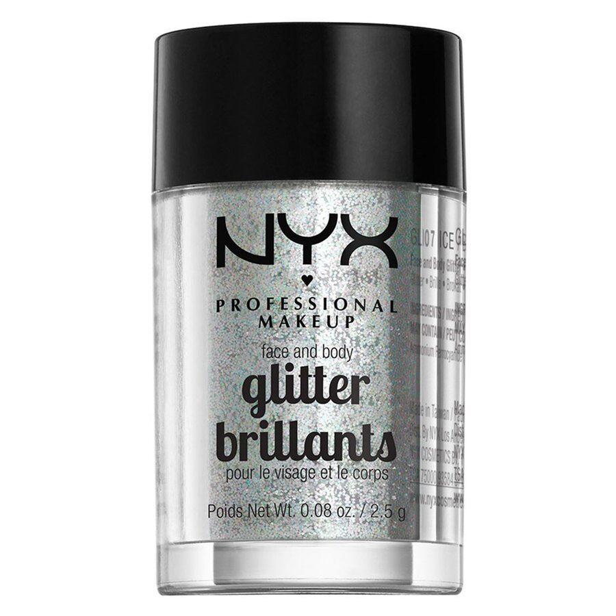 NYX Professional Makeup Face & Body Glitter - Ice GLI07