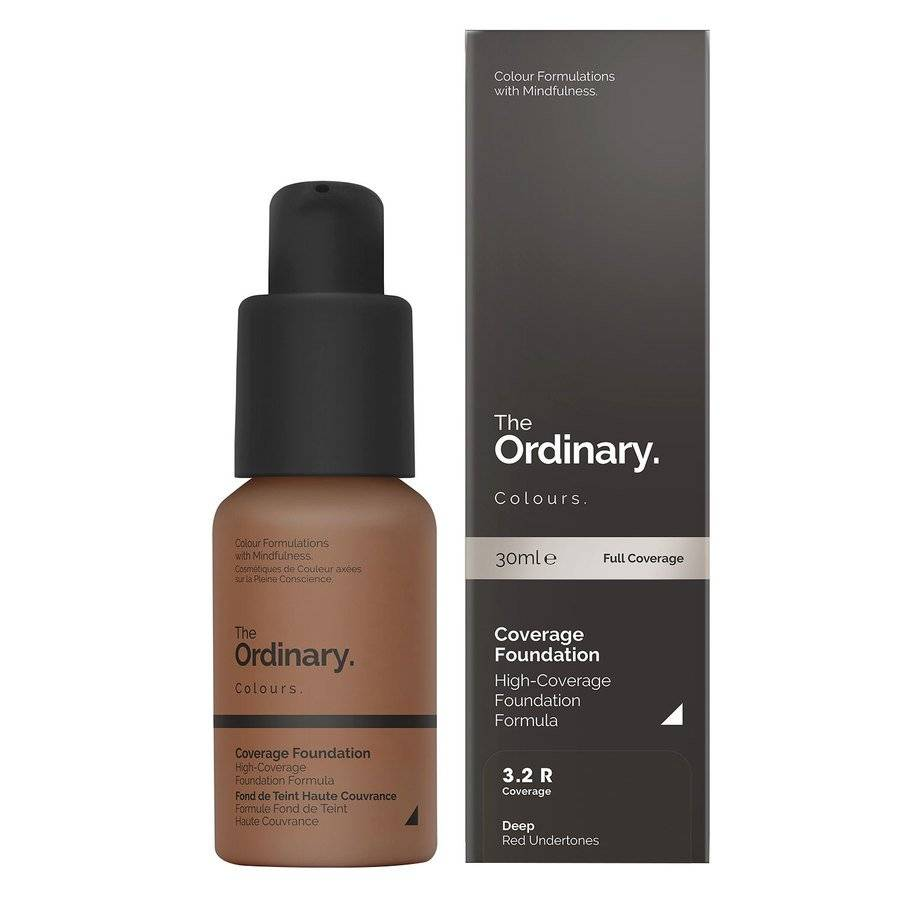 The Ordinary Coverage Foundation 30ml - 3.2 R Deep Red