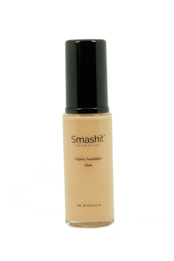 Smashit Cosmetics Organic Foundation Olive 30ml