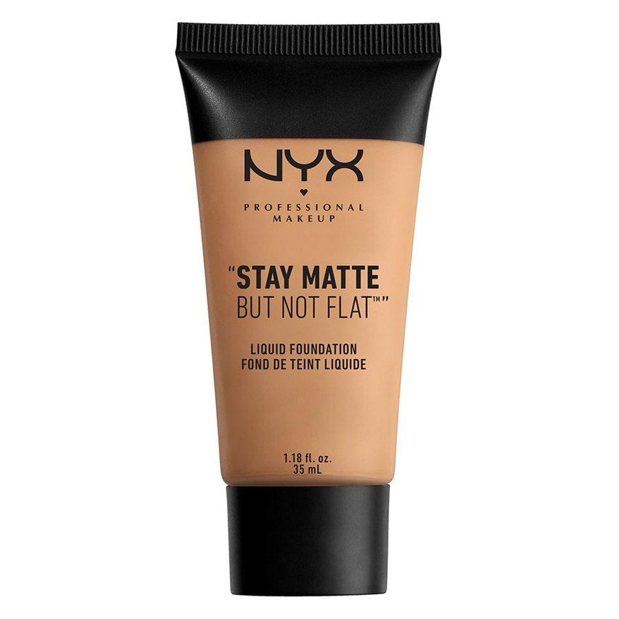 NYX Professional Makeup Stay Matte But Not Flat Liquid Foundation 35 ml - Golden Beige