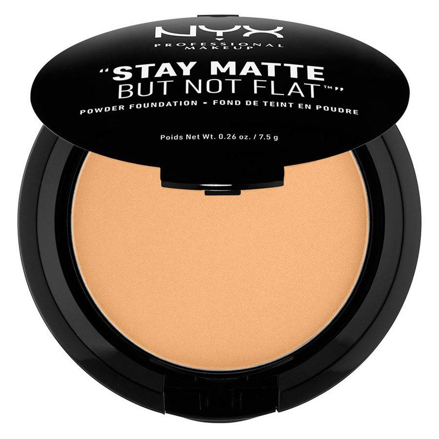NYX Professional Makeup Stay Matte But Not Flat Powder Foundation Soft Beige 7,5g