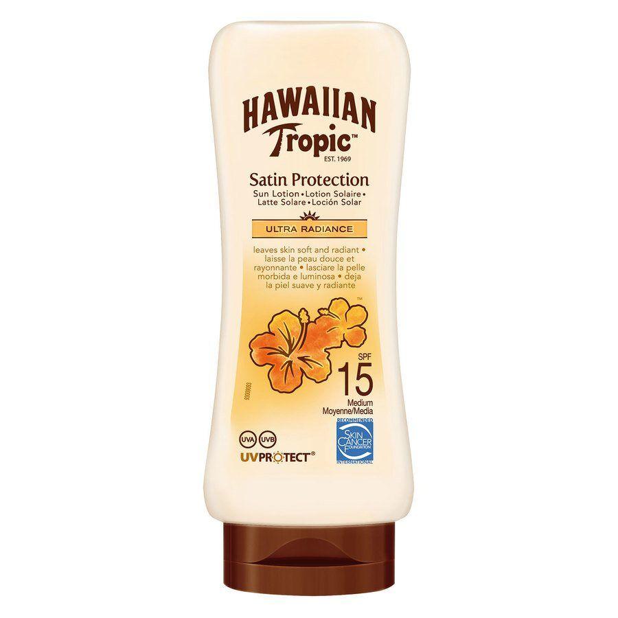 Hawaiian Tropic Satin Protection Sun Lotion SPF 15 180 ml