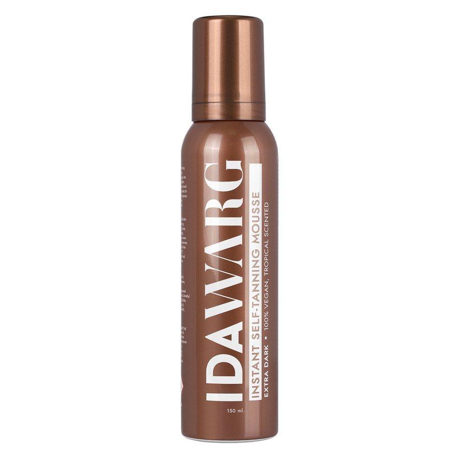 Ida Warg Instant Self Tanning Mousse 150 ml ─ Extra Dark