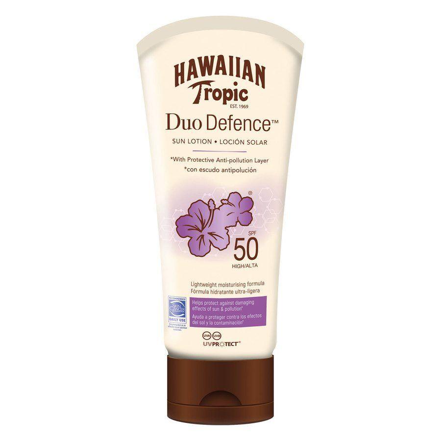 Hawaiian Tropic DuoDefence Sun Lotion SPF50 180 ml