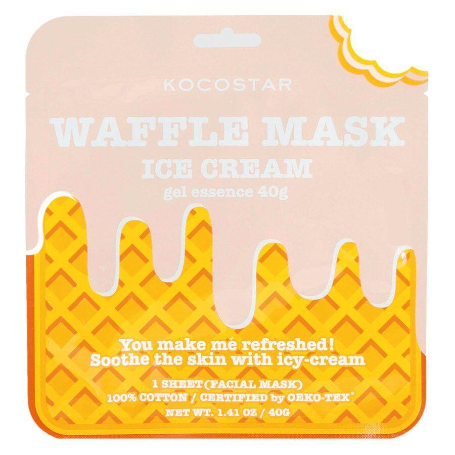 Kocostar Waffle Mask 40 g ─ Icecream