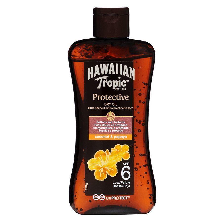 Hawaiian Tropic Protective Dry Oil SPF 6 200 ml