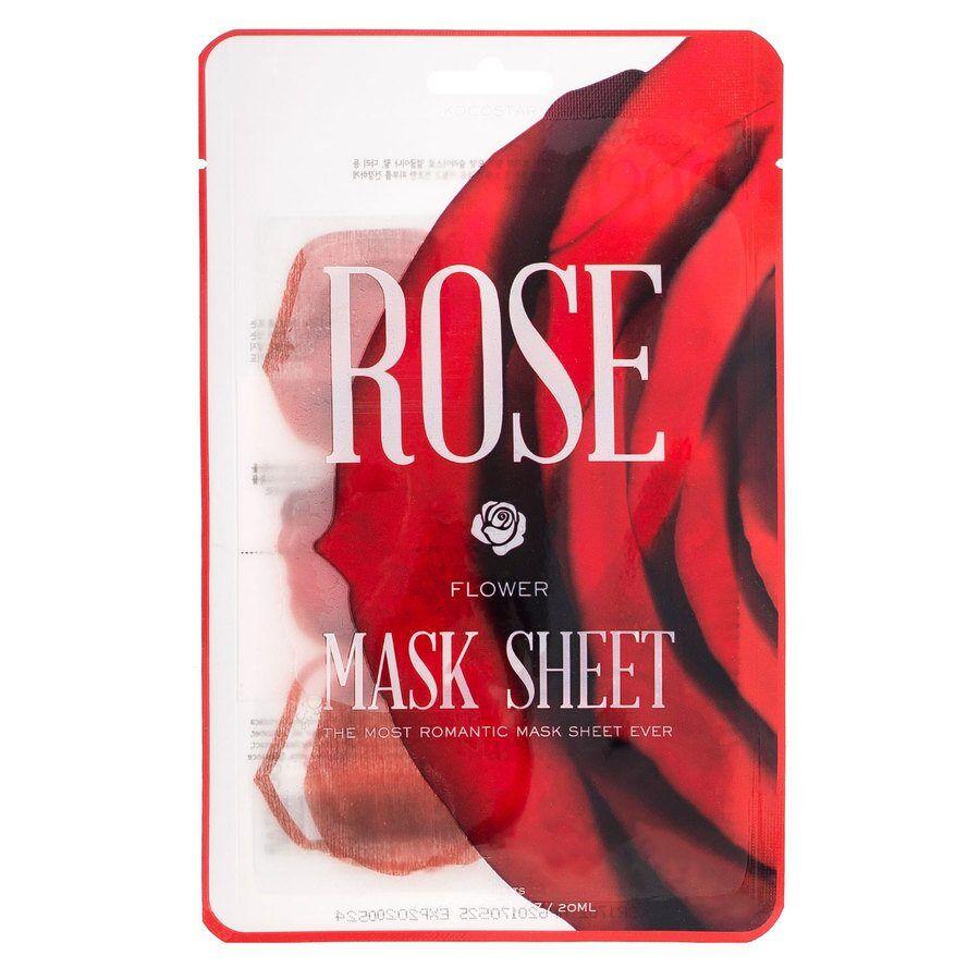 Kocostar Slice Mask Sheet Rose Flower